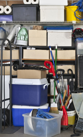 Storage items for Unheated units